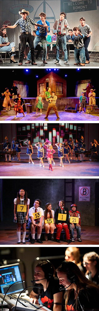 PVHS Drama photo collage